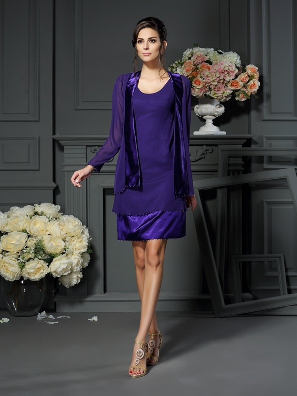 Long Sleeves Chiffon Special Occasion Wrap