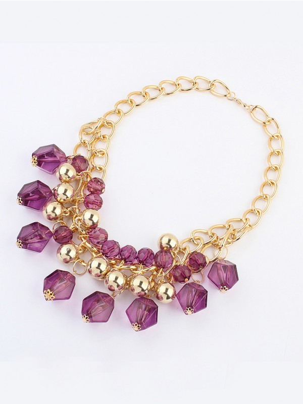 Occident Bohemia Dimensional geometry Hot Sale Necklace